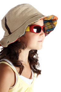 kid hat sunglasses
