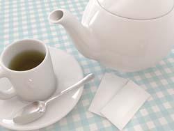 tea pot and mug