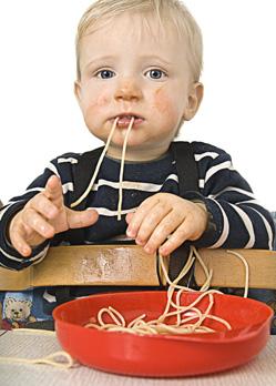 toddler spaghetti