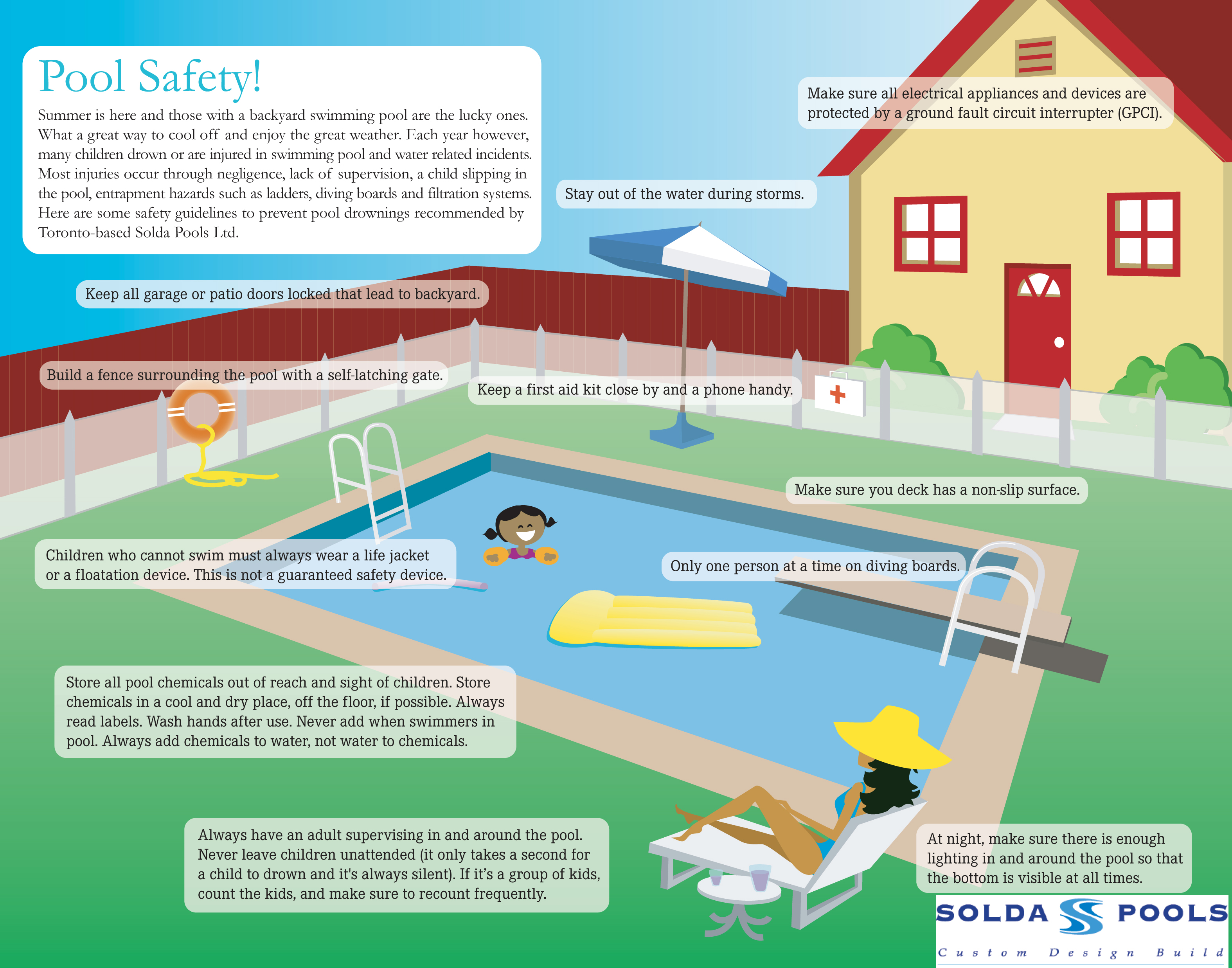 Pool Safety Baby Care Tips Informations Oh Baby