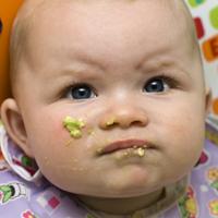 baby eating avocado 200