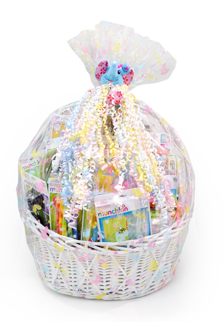 Oh baby magazine from toys teethers feeding accessories and bath products the ultimate munchkin gift basket comes beautifully wrapped in a deluxe wicker basket and has negle Images