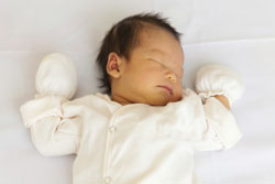 asian baby sleeping 250
