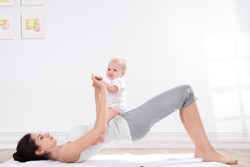 exercise with baby 250