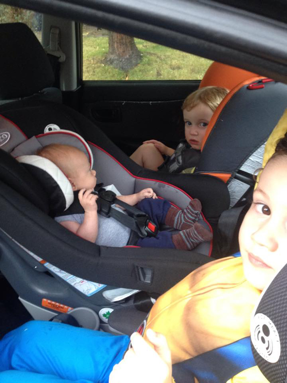 Road tripping with toddlers – and other scary tales