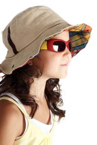 kid hat sunglasses
