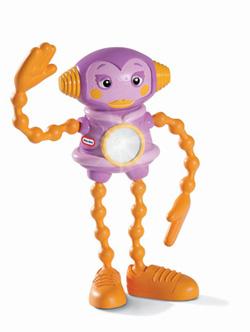 Action Robot Flashlight- Girl Robot - 250