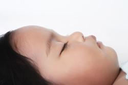sleeping baby profile 250